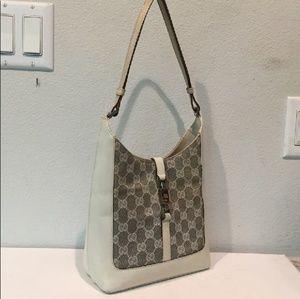 Gucci Monogram Shoulder Strap Purse